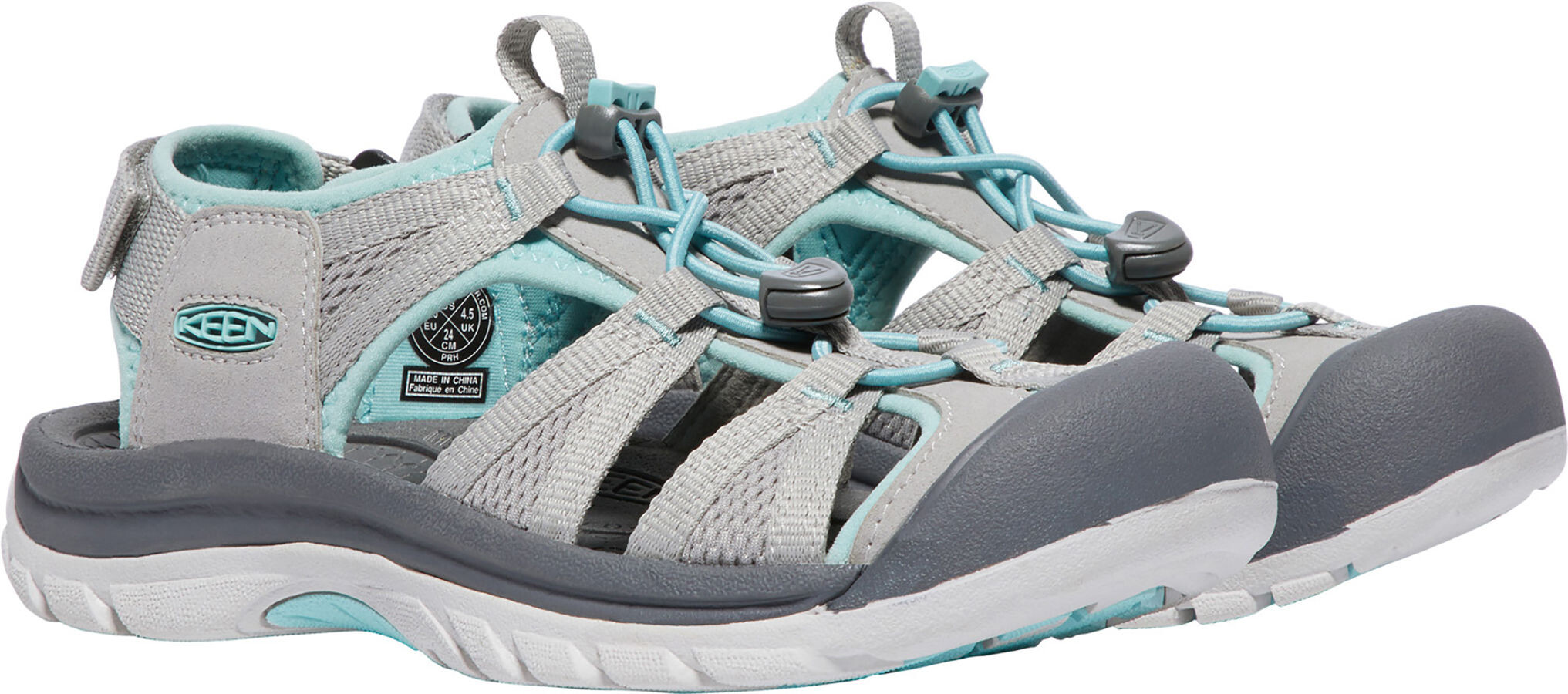 3a7b342890e Keen Venice II H2 Sandals Women Paloma/Pastel Turquoise | campz.at